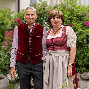 Ferienwohnungen direkt am Weßlinger See: Ihre Gastgeber Annemarie und Anton Wunderl