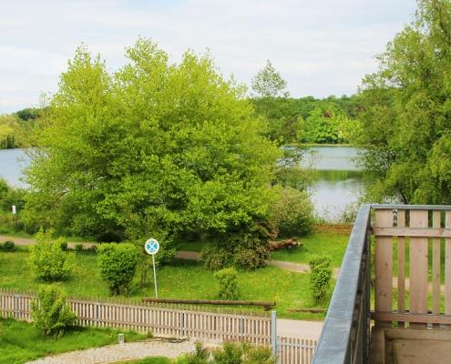 "Ferienwohnung ""Weßlinger See"" - Blick vom Nordbalkon"