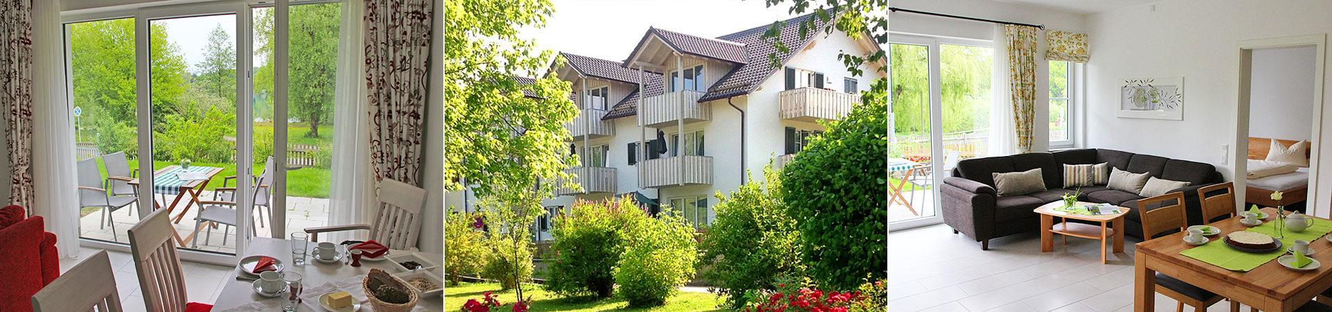 Ferien Wunderl am See - Vermietung von Ferienwohnungen und Gästezimmer direkt am Weßlinger See